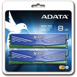 8GB ADATA XPG V1.0 Series DDR3-1600 DIMM CL11 Dual Kit