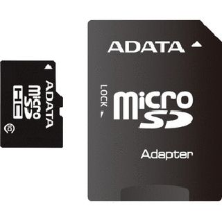 8 GB ADATA microSDHC Class 10 Retail inkl. Adapter