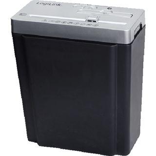 LogiLink AV300A Aktenvernichter für Papier/CDs/Kreditkarten