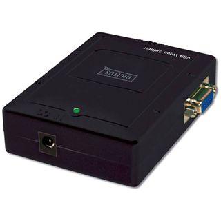 Digitus DS-42120-1 2-fach VGA-A/V-Splitter