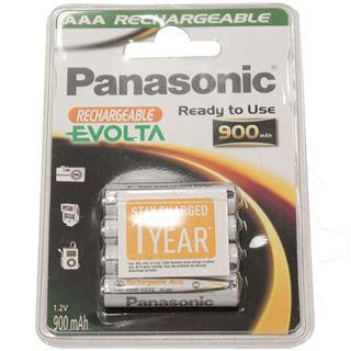 Panasonic Evolta HR03 Nickel-Metall-Hydrid AAA Micro Akku 800 mAh 4er Pack