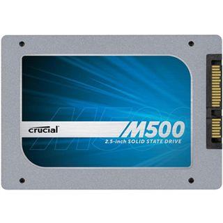 "240GB Crucial M500 2.5"" (6.4cm) SATA 6Gb/s MLC (CT240M500SSD1)"