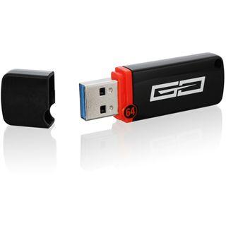 64 GB Sharkoon Flexi-Drive Go schwarz USB 3.0