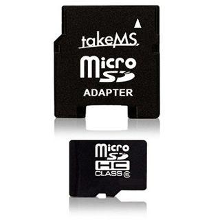 32 GB takeMS microSDHC Class 10 Bulk inkl. Adapter