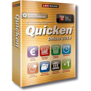 Lexware Quicken Deluxe 2014 32/64 Bit Deutsch Office Vollversion PC (CD)