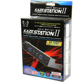 "Scythe Kaze Station II 2x USB 3.0/Audio Front Panel für 3,5"" (KST02-3.5)"