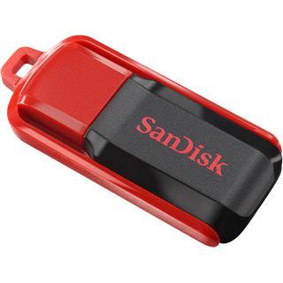 64 GB SanDisk Cruzer Switch rot/schwarz USB 2.0