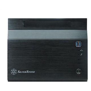 Silverstone Sugo SG06 Wuerfel 300 Watt schwarz