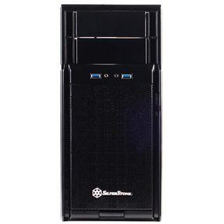 Silverstone Precision PS08 Midi Tower ohne Netzteil schwarz