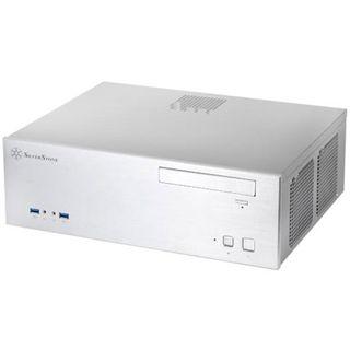 Silverstone Grandia GD04S USB 3.0 Desktop ohne Netzteil silber