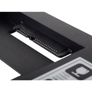 """Silverstone ODD Einschub schwarz Adapter für 2,5"""" Festplatten (SST-TS09)"""