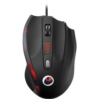 Corsair Raptor M4 Laser Gaming Mouse USB schwarz (kabelgebunden)
