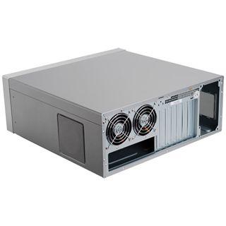 Silverstone Lascala LC17 Desktop ohne Netzteil silber