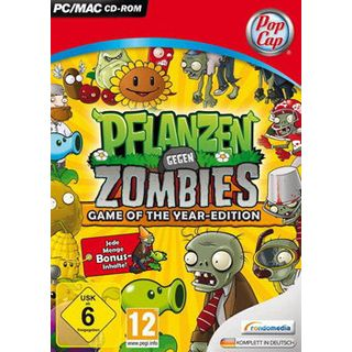 rondomedia Pflanzen gegen Zombies Game of the Year-Edition (PC)