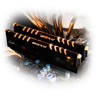 16GB Avexir Core Series orange LED DDR3-1600 DIMM CL9 Quad Kit