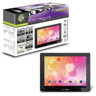 "9.7"" (24,64cm) Point of View ProTab 3 IPS WiFi/Bluetooth V4.0 8GB schwarz/silber"