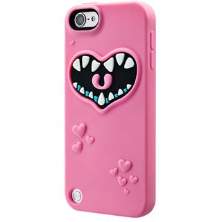 SwitchEasy MONSTERS Pinky (SW-MONT5-P): freaky Protection Solution für iPod Touch 5G