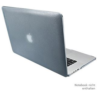 SwitchEasy cocoon Slate Grey (SW-COCPRO15R-GY): Polycarbonate case für MacBook Pro 15û (with Retina Display)