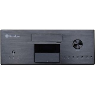 Silverstone Lascala LC16M Desktop ohne Netzteil schwarz