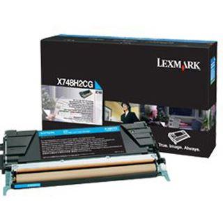Lexmark X748 10K Tonerkartusche cyan