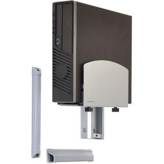 Ergotron 45-358-026 LX Steh-Sitz-Wandmontagesystem Wandhalterung schwarz/silber