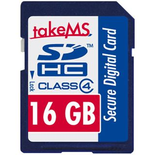 16 GB takeMS Secure Digital SDHC Class 4 Retail