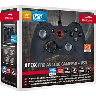 Speedlink XEOX Pro USB schwarz PC