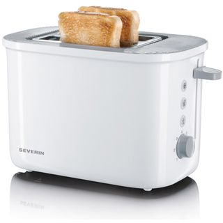Severin Toaster AT 2212 weiß/grau