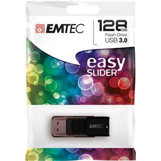 128 GB EMTEC C800 Easy Slider schwarz USB 3.0