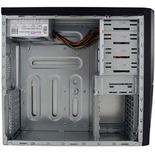 LC-Power Pro-924B Midi Tower ohne Netzteil schwarz