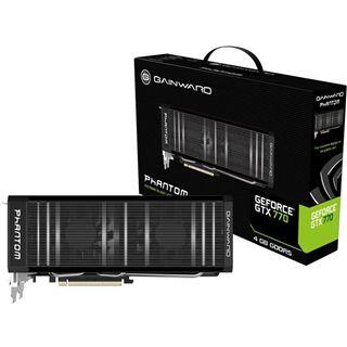 4GB Gainward GeForce GTX 770 Phantom Aktiv PCIe 3.0 x16 (Retail)