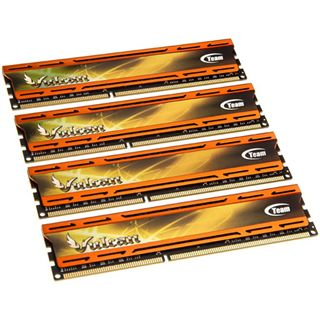 16GB TeamGroup xtreem vulcan orange DDR3-2400 DIMM CL11 Quad Kit