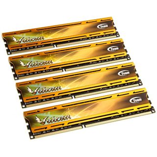 32GB TeamGroup Vulcan Series gold DDR3-1866 DIMM CL10 Quad Kit