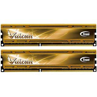 8GB TeamGroup Vulcan Series gold XMP DDR3-1866 DIMM CL9 Dual Kit