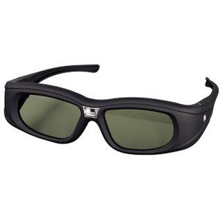 Hama 3D-Shutterbrille für DLP-Link-Projektoren, wiederaufladbar, Schwarz