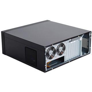 Silverstone Lascala LC17 USB 3.0 Desktop ohne Netzteil schwarz