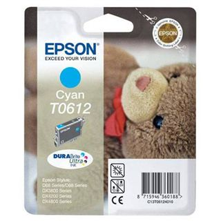 Epson Tinte T0612 C13T06124020 cyan