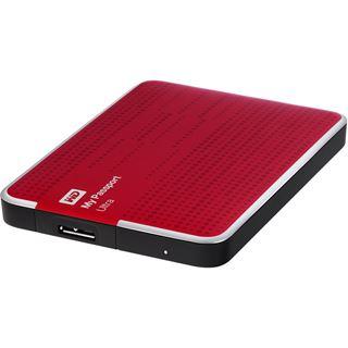 "500GB WD My Passport Ultra WDBPGC5000ARD-EESN 2.5"" (6.4cm) USB 3.0 rot"