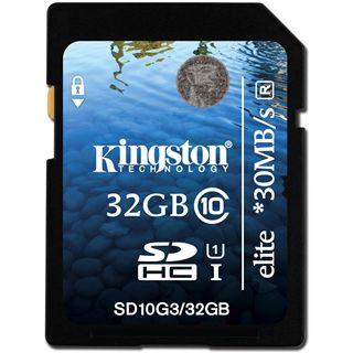 32 GB Kingston Elite SDHC Class 10 Retail