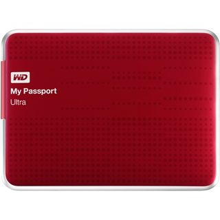 "1000GB WD My Passport Ultra WDBZFP0010BRD-EESN 2.5"" (6.4cm) USB 3.0 rot"