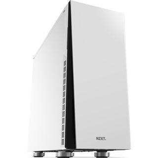 NZXT H230 gedämmt Midi Tower ohne Netzteil weiss