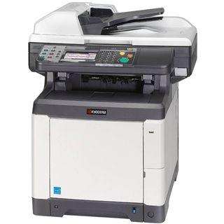 Kyocera FS-C2626MFP/FAX Farblaser Drucken/Scannen/Kopieren/Faxen LAN/USB 2.0