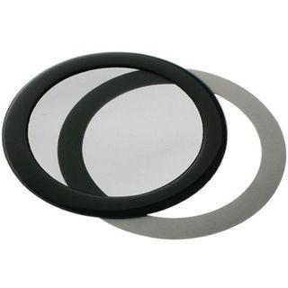 DEMCiflex 92mm rund schwarz Staubfilter für Gehäuse (92mm Round black mesh)