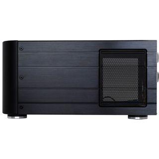 Silverstone Crown CW02 Alu Desktop ohne Netzteil schwarz