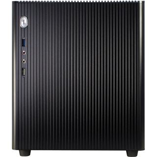 Inter-Tech E-M3 Black ITX Tower ohne Netzteil schwarz
