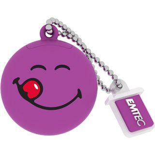 8 GB EMTEC Smiley World SW101 Yum Yum lila USB 2.0