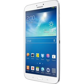 "8.0"" (20,32cm) Samsung Galaxy Tab 3 WiFi/Bluetooth V4.0 16GB weiss"