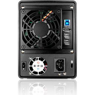 "Raidon GR5630-WSB3+ 3.5"" (8,89cm) eSATA/FireWire 800/USB 3.0 schwarz"