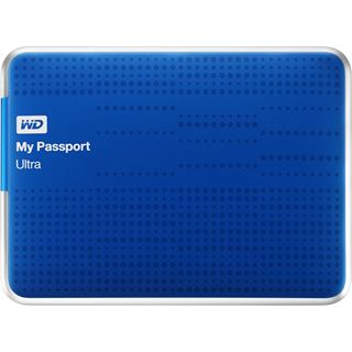 "1000GB WD My Passport Ultra WDBZFP0010BBL-EESN 2.5"" (6.4cm) USB 3.0 blau"