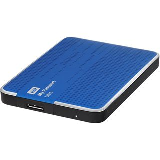 "1000GB WD My Passport Ultra WDBZFP0010BBL-EESN 2.5"" (6.4cm) USB 3.0 blau"